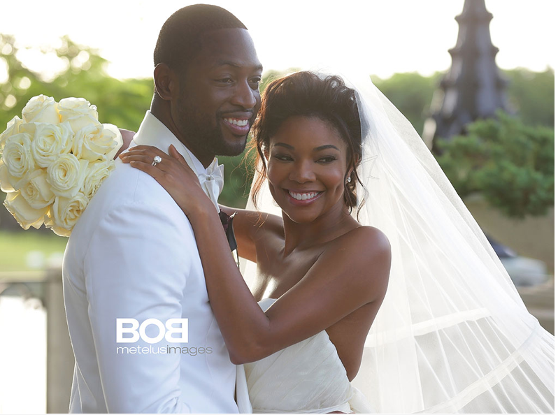 Gabrielle Union and Dwyane Wade Wedding