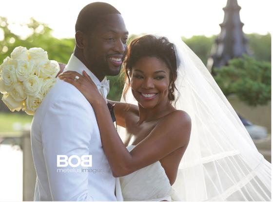 Gabrielle Union and Dwyane Wade Wedding