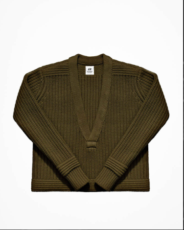 Chunky-knit Wool Sweater - $49.95