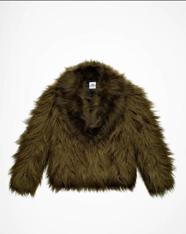Faux-Fur Jacket - $79.95