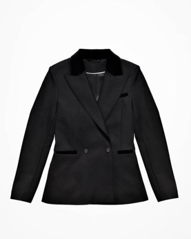 Jacket in a Wool Blend - $99
