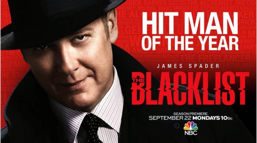 The Blacklist starring James Spader