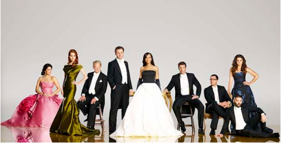 Scandal cast photo for Season 4