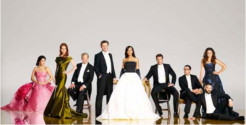 Scandal cast photo for Season 4