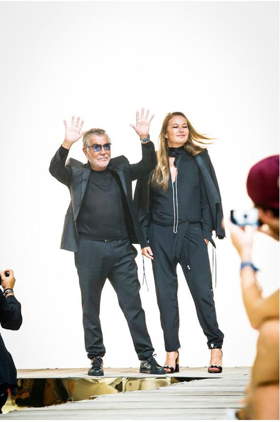 Milan Fashion Week: Roberto Cavalli and EmilioPucci