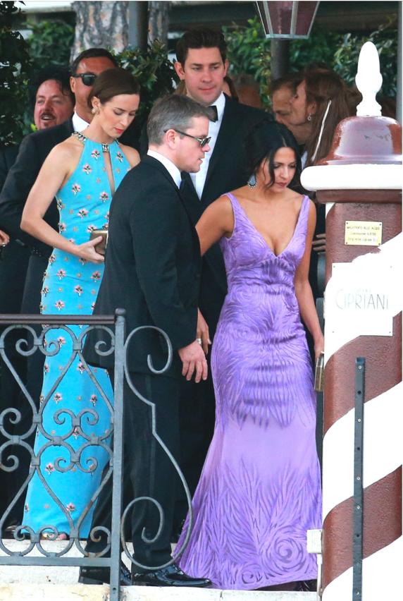Clooney weddinf guests