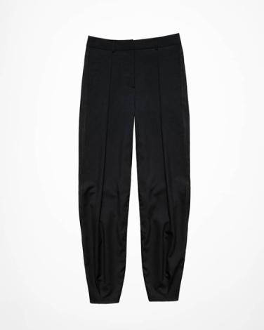 Wide-cut Wool Pants - $69.95