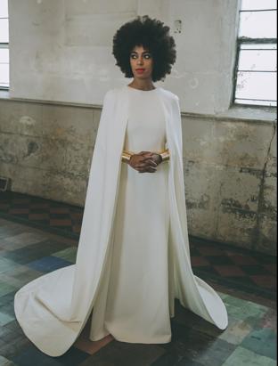 Solange gown