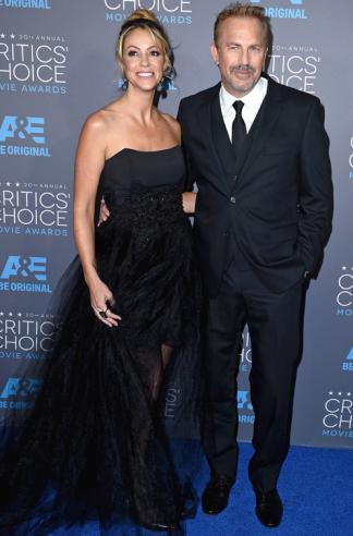 Kevin Costner and Christine Baumgarter