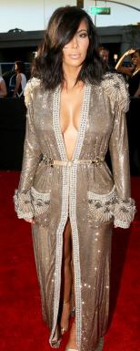 Kim Kardashian West In Jean Paul Gaultier