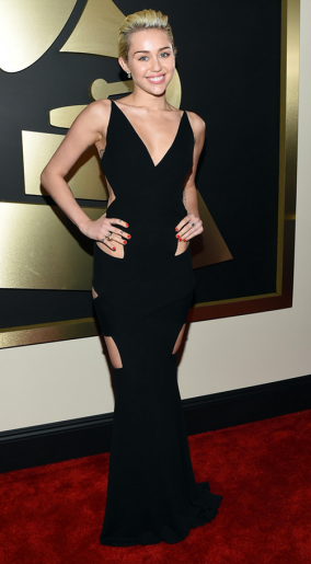 Miley Cryus in Alexandre Vauthier