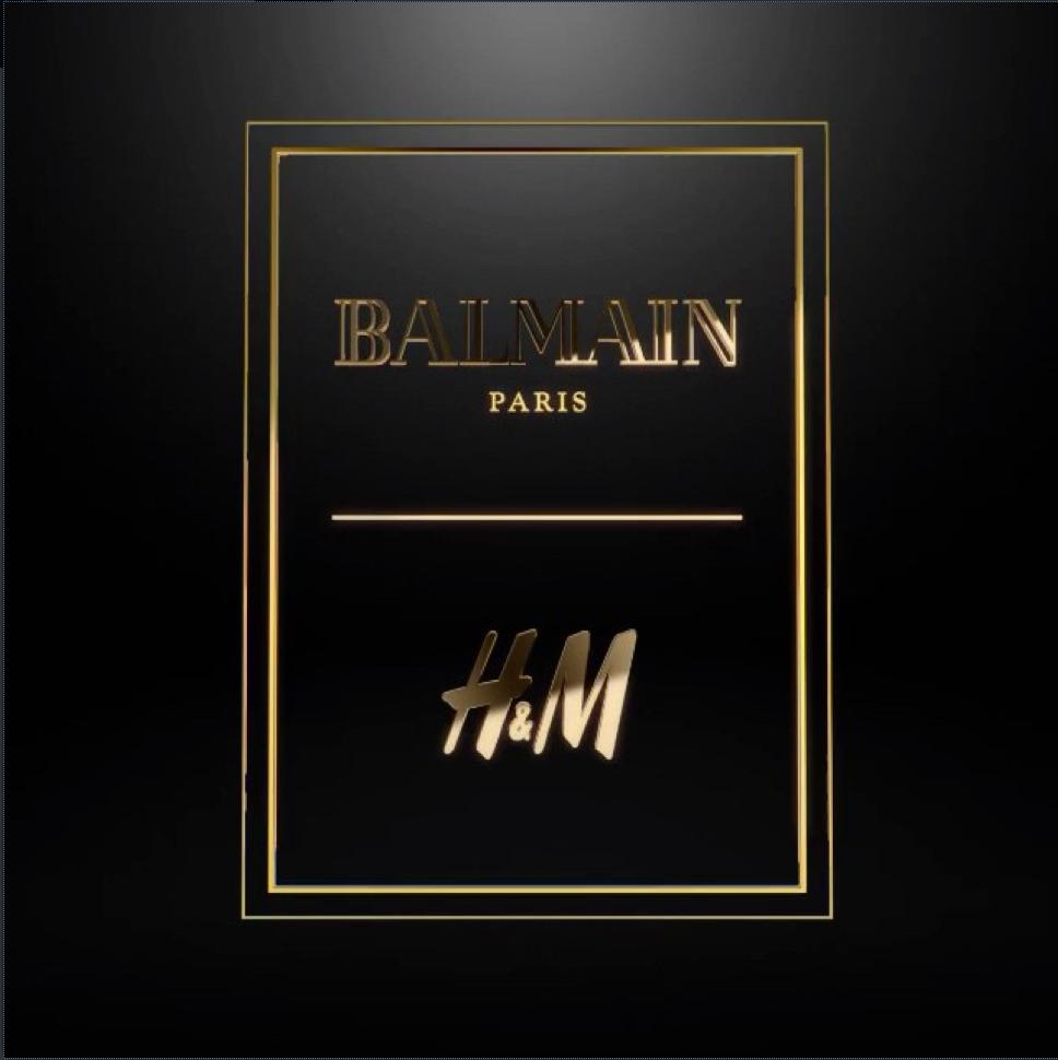 Balmain x H&M ComingSoon