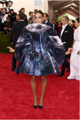 Solange Knowles in Giles Deacon