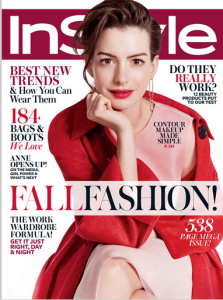 Anne Hathaway, InStyle