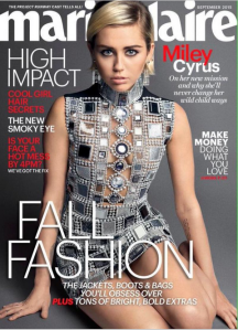 Miley Cyrus, Marie Claire